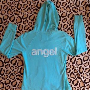 Victoria's Secret Angel Hoodie Jacket    Large